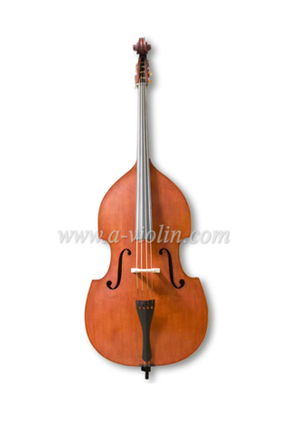 Gambe Shape Arched Back Flamed Hand Made Student Contrabajo (GDB102)