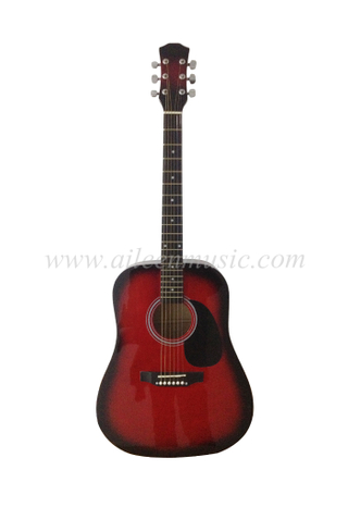 "Guitarra acústica en color Dreadnought de 41 ""(AF229)"