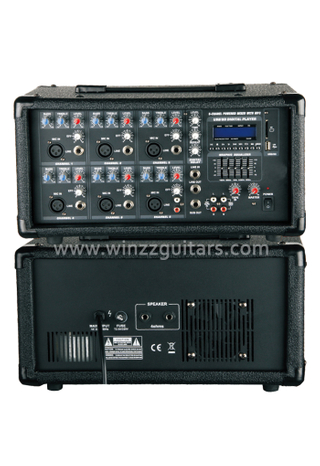 Amplificador de audio profesional de 6 canales PA Amplificador de audio Mobile Power Pro (APM-0615U)